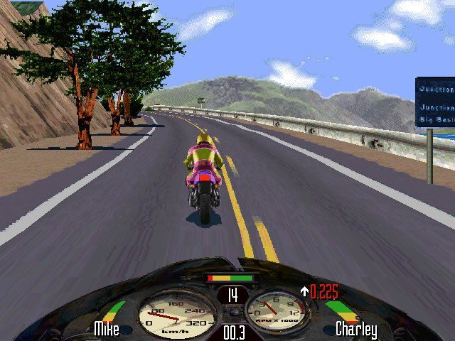 Download Road Rash racing for Windows XP (1996) - Abandonware