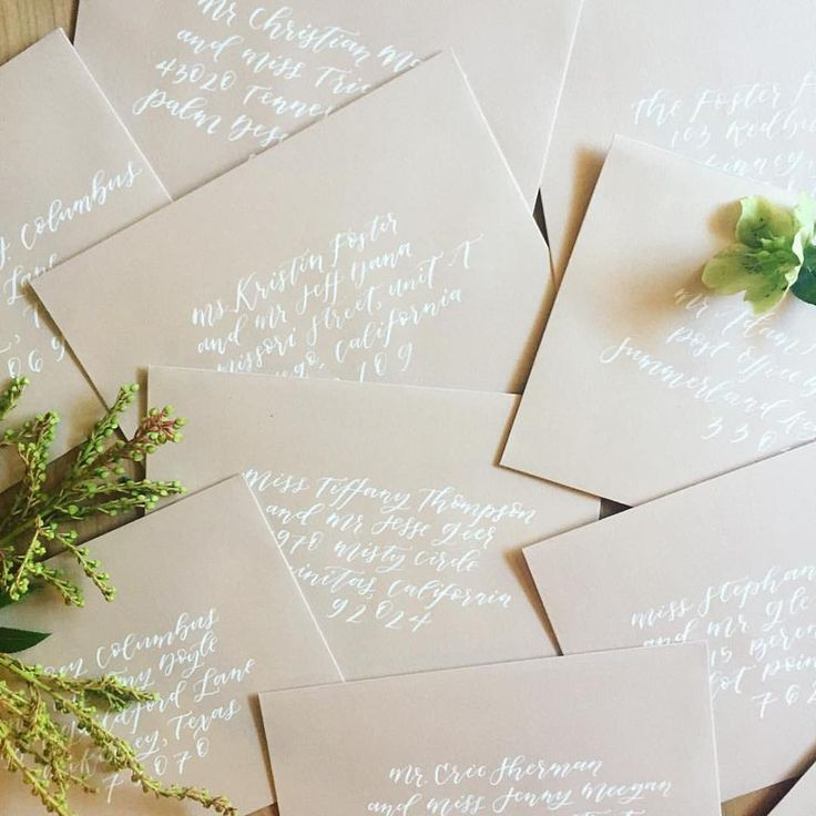 Best 25+ Addressing Wedding Invitations Ideas On Pinterest