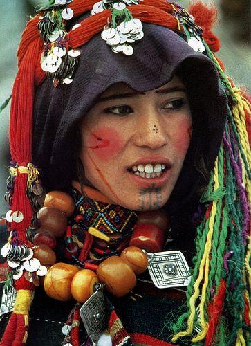 Berber woman . High Atlas . Morocco