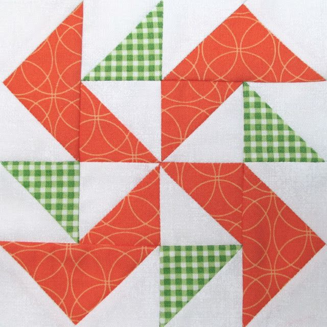 "Bee In My Bonnet: The Quilty Barn Along...Silo Barn 3 and a ""Peas and Carrots"" block tutorial!..."