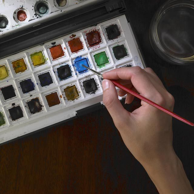Watercolor Painting: 1-2-3 Easy Techniques to Mastering Watercolor Painting