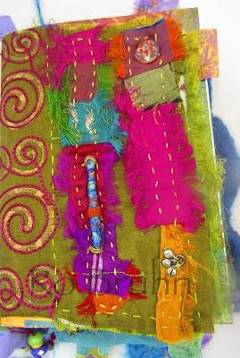 Ro Bruhn - a fabric page using sari silks