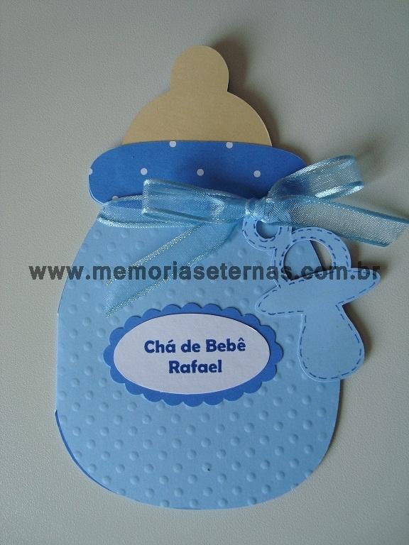 Convite Chá de Bebê do Rafael!