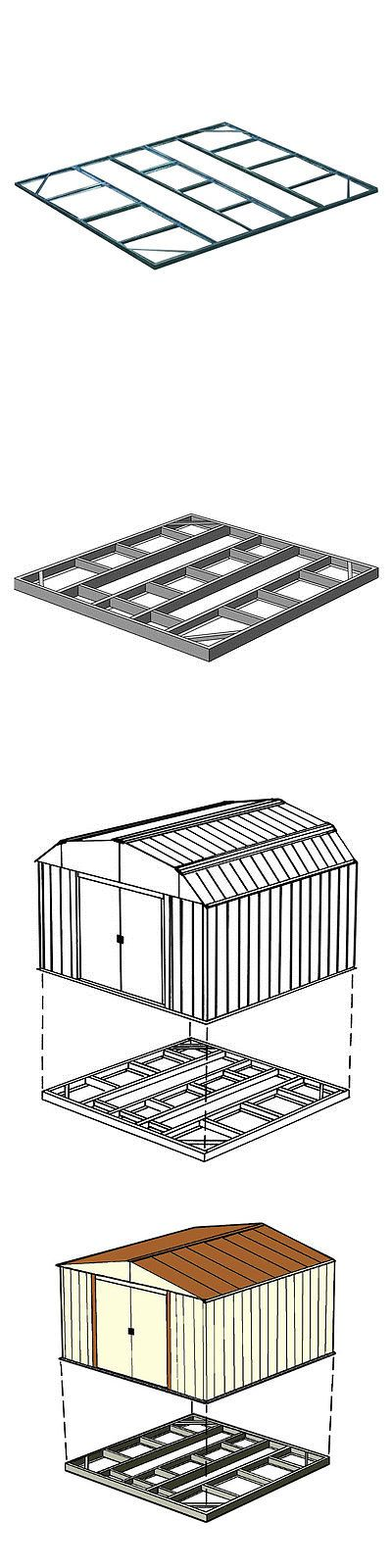 Parts and Accessories 178978: Arrow Storage Fdn106 - Base Kit For 4 X10 , 8 X6 And 10 X6 Sheds -> BUY IT NOW ONLY: $91.8 on eBay!