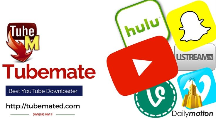 Tubemate: Best Youtube Downoader for downloading videos.  Download from our page: http://tubemated.com