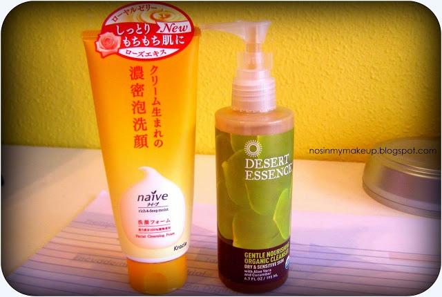 Top Limpiadores Faciales: Desert Essence y Naive