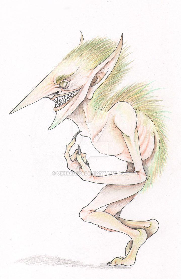 Continuando con Bestias fantasticas y donde encontrarlas, el Erkling una criatura forestal que gusta de devorar niños, Fantastic Beast again this time, the erkling a europe forest creatu...