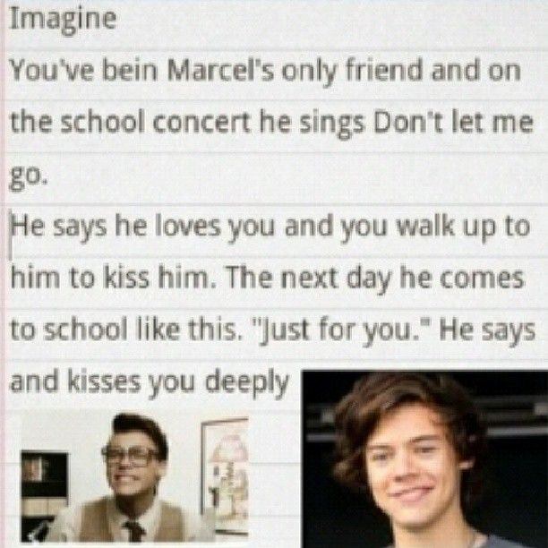 i can't take these marcel imagines anymore! i am so close to jumping off a cliff