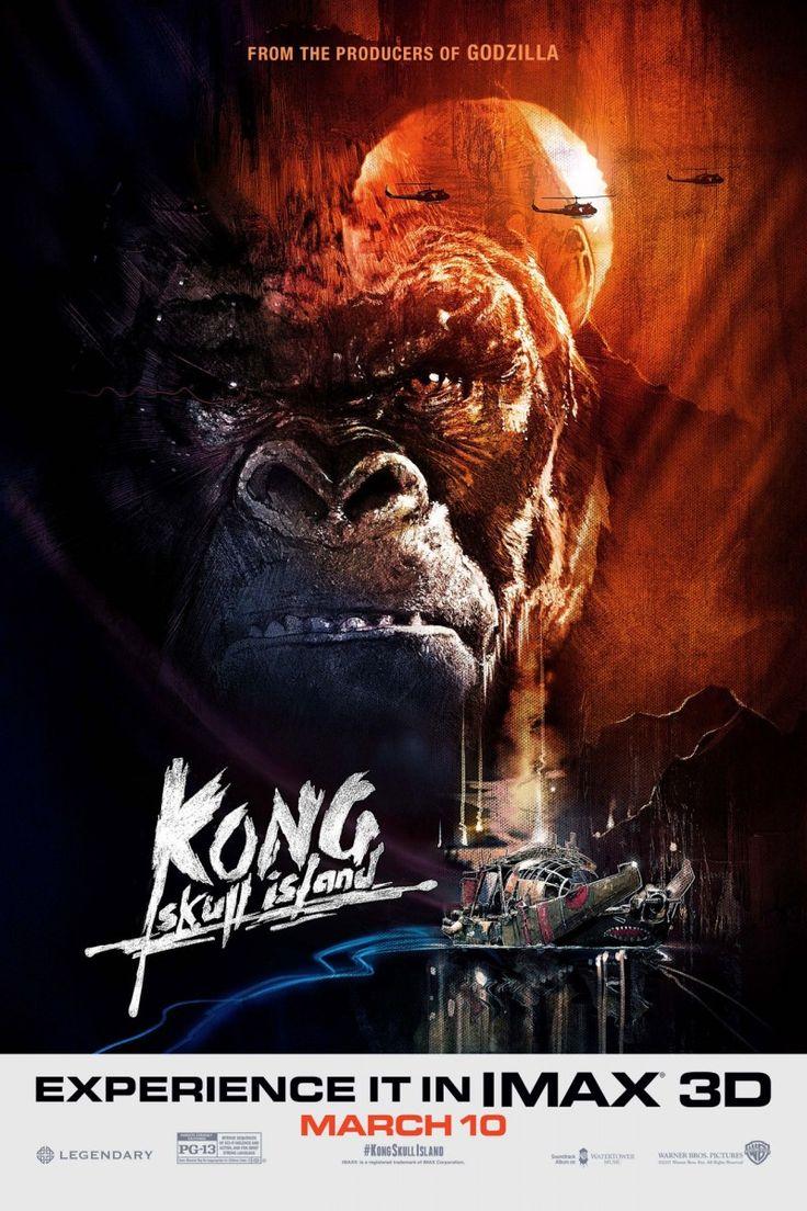 """""""Кинг Конг: Остров черепа"""" коллекционирует классные постеры!"""
