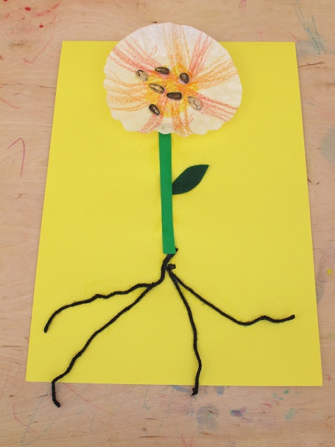 98 best images about preschool flower crafts on pinterest for Garden crafts for preschoolers