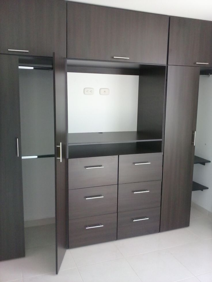 Resultado de imagen de fitted wardrobes bedroom tv