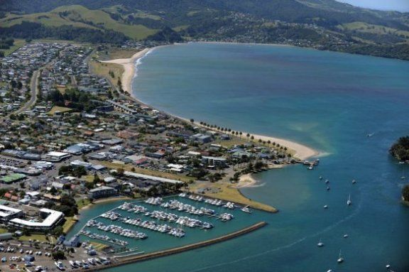 Today Whitianga serves as a small regional centre for the eastern side of the Coromandel Peninsula / Mercury Bay area and is a focal point for local fishing, farming and tourism industry. Description from baileysmotel.co.nz. I searched for this on bing.com/images