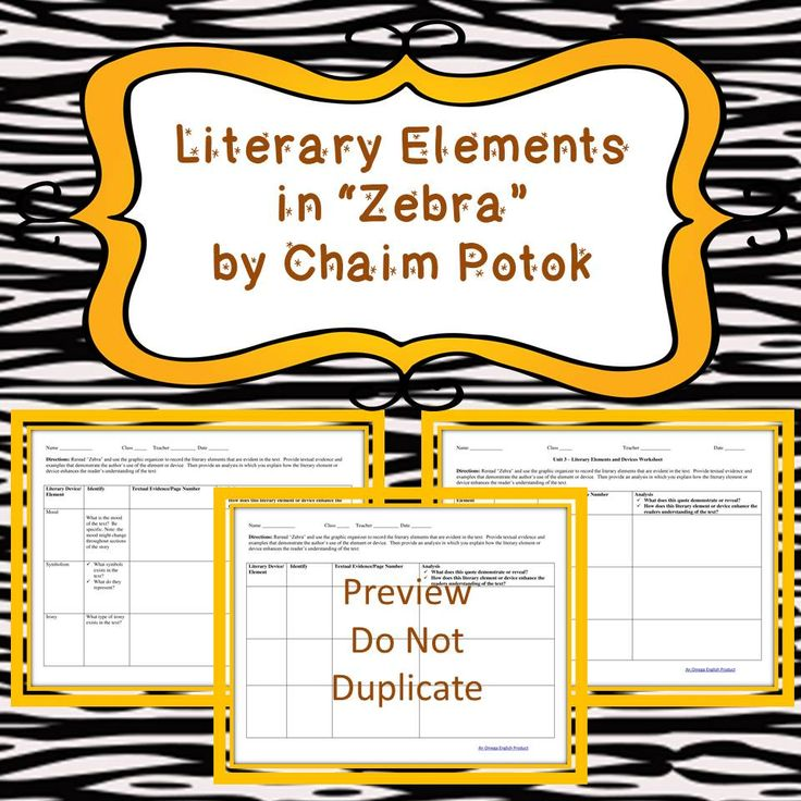zebra by chaim potok Biographical data, updated may, 2002  personal: born:  potok started writing fiction at the age of 16  zebra and other stories, 1998.