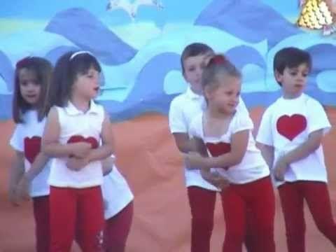 Fiesta Fin de Curso 2012-2ªparte: Infantil 3 años - YouTube