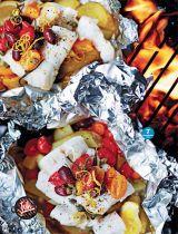 Mediterranean Fish Parcels BBQ recipe. Readly - Weight Watchers Magazine - 2016-07-06 : Page 77
