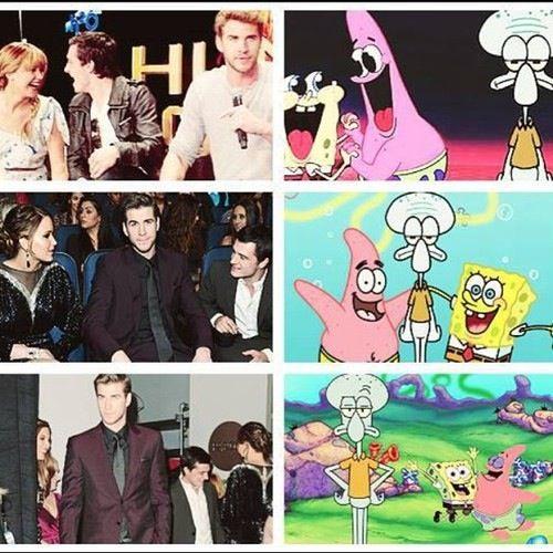 Hunger Games/ SpongeBob