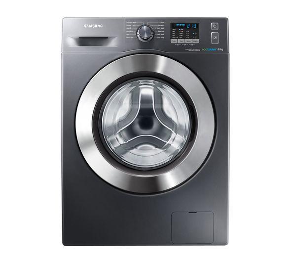 £499 - 50 rebate Buy SAMSUNG WF80F5E2W4X ecobubble™ Washing Machine - Graphite | Free Delivery | Currys