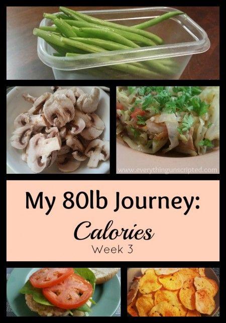 My #80lbJourney: Calories