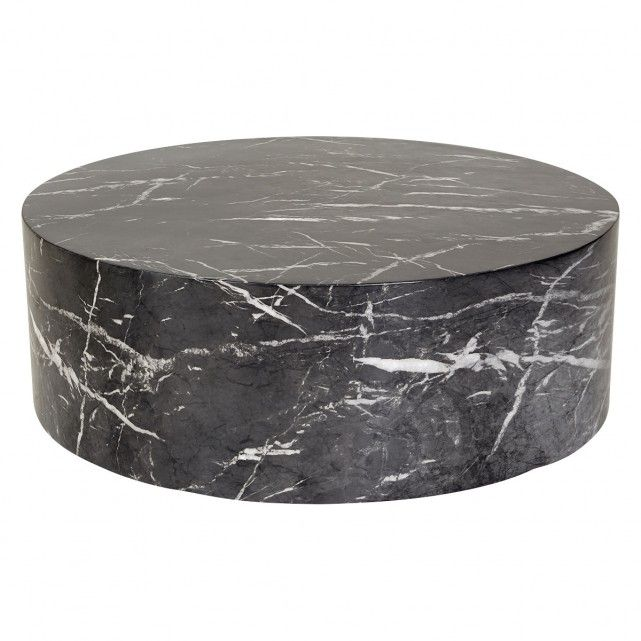 Tokki Black Marbled Cement Coffee Table In 2019