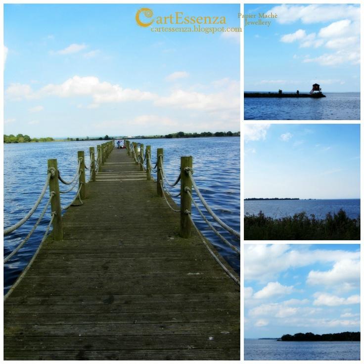 Ispirazioni Irlandesi/1: Acqua e cielo - Lough Neagh ~ CartEssenza
