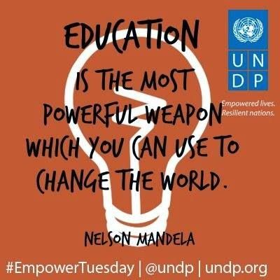I know this doesn't hyperlink to UNDP, but it's such an inspirational qu…