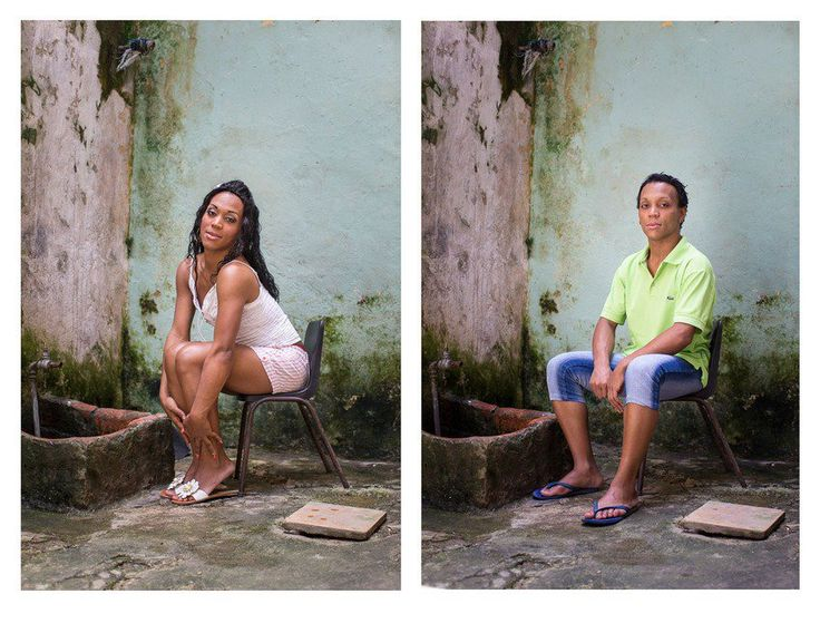 15 Before & After Photos Of Beautiful Transgender People In Cuba
