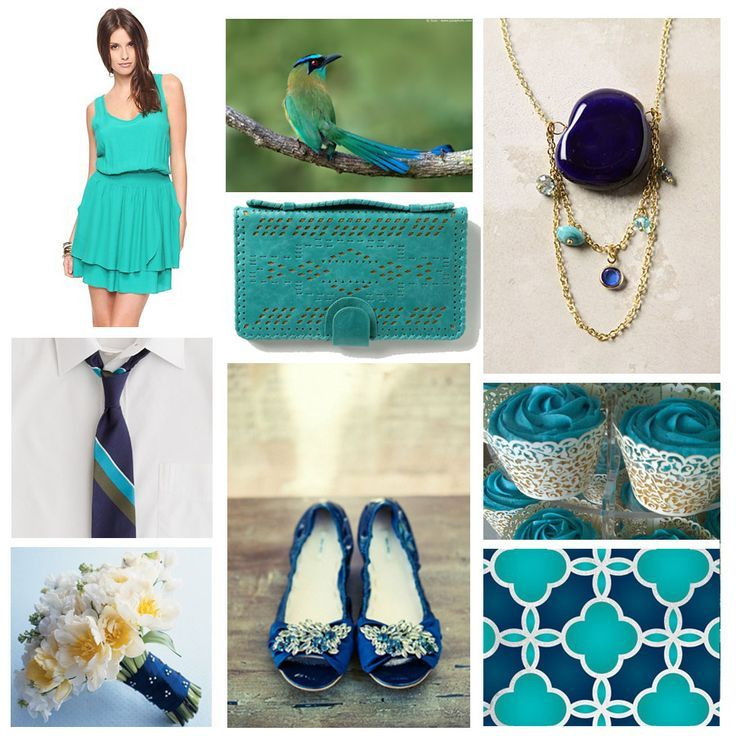 Bright Colorful Wedding Inspiration: 19 Best Images About Compliments Of Turquoise On Pinterest
