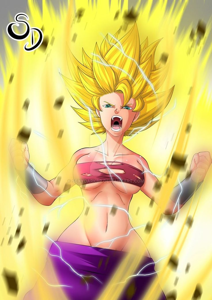 Caulifla by SexyDarkBR.deviantart.com on @DeviantArt - More at https://pinterest.com/supergirlsart #dragon #ball #super #saiyan #ssj #dragonball #dbs #anime #girl #fanart