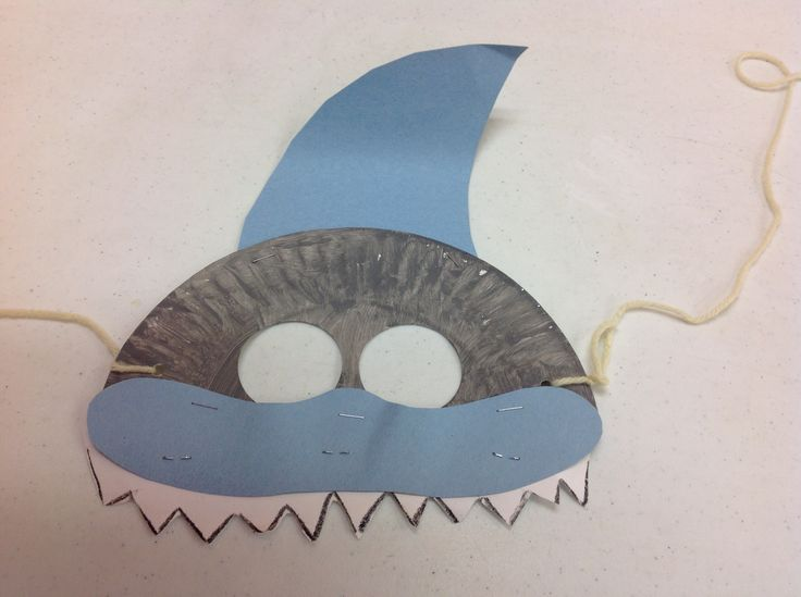 Sample of one of my own shark masks Style2