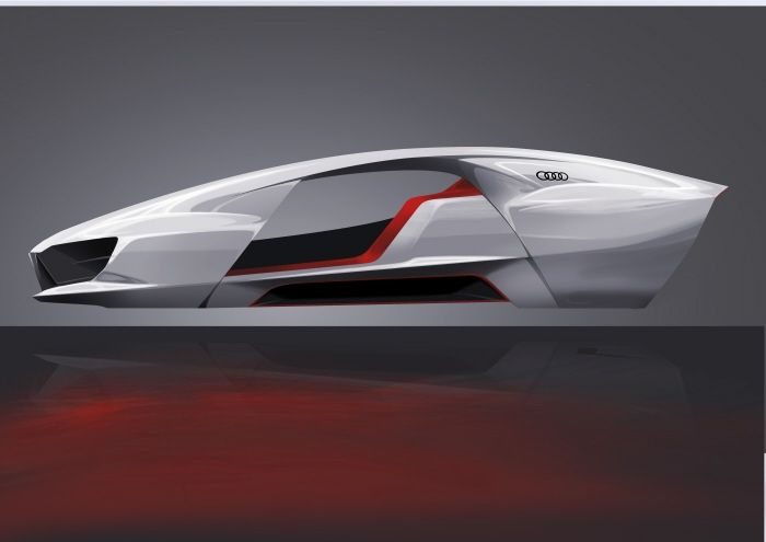 Audi bend by Damien DURAND at Coroflot.com