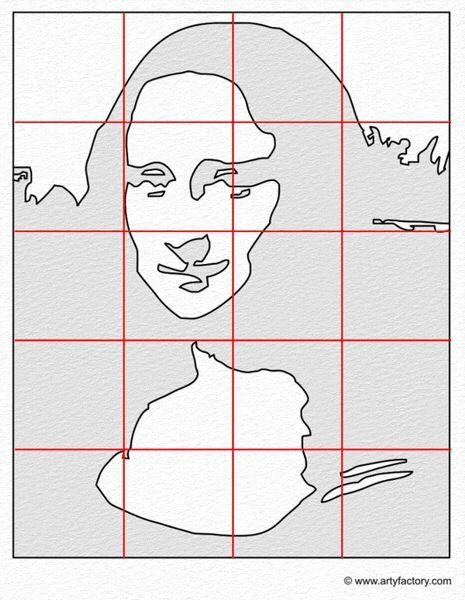 pop art portrait template mona lisa art class ideas in 2018