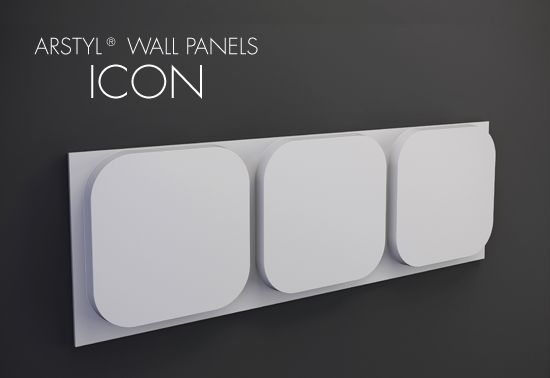 ARSTYL® Wall Panels ICON / H 380 x W 1135 mm / Tmax 45 mm