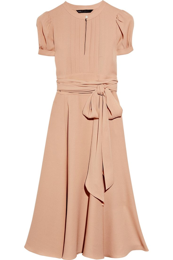 Marc Jacobs pinky-beige frock Live a luscious life with LUSCIOUS: www.myLusciousLife.com