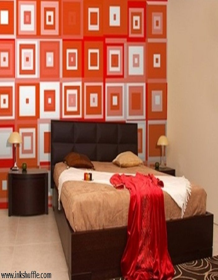 Feeling blue most of the time? How about uplifting your mood by looking at a brightly-colored decor on your wall?