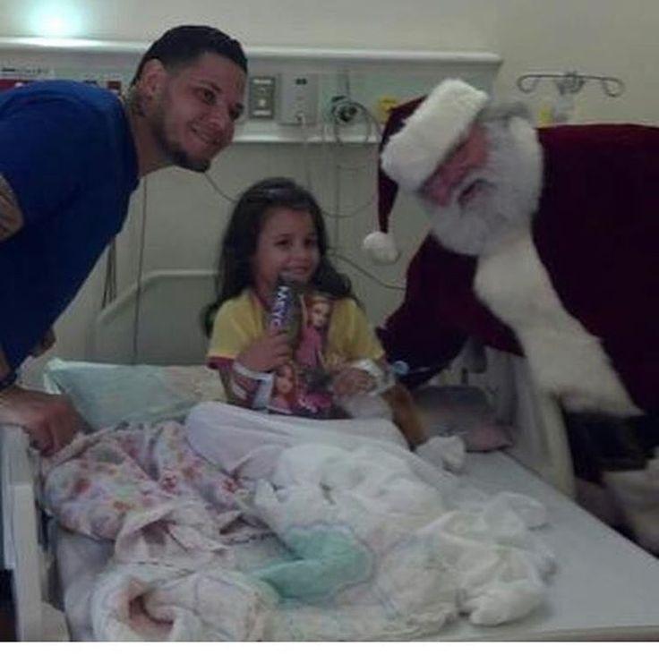 Yadi and Santa's hospital visit