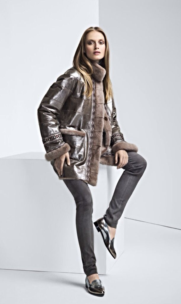 Mink Fur Reversible to Hide Jacket