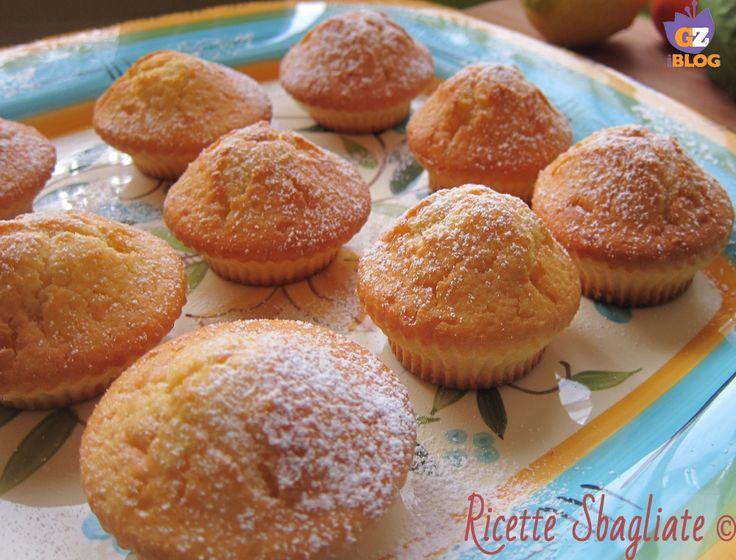 Muffin agli agrumi, con limone arancia e mandarino!