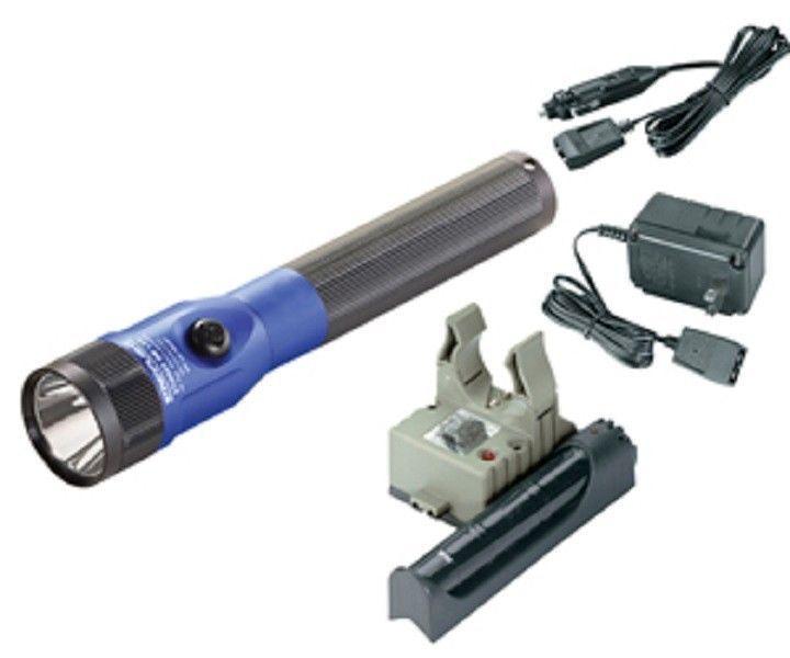 Streamlight 75613 Blue LED Piggyback Stinger AC/DC Kit