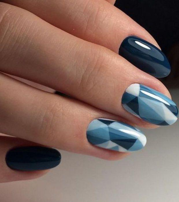 Le nail art façon cristaux mats