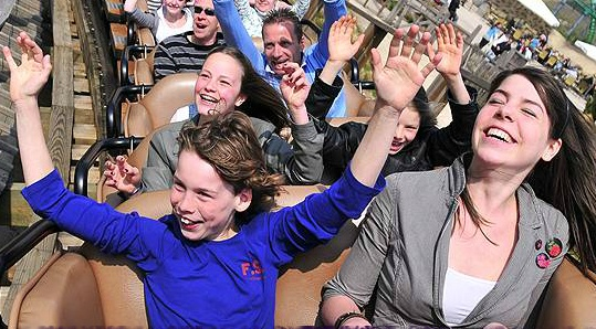 Win 4 vrijkaarten voor Attractiepark Toverland!