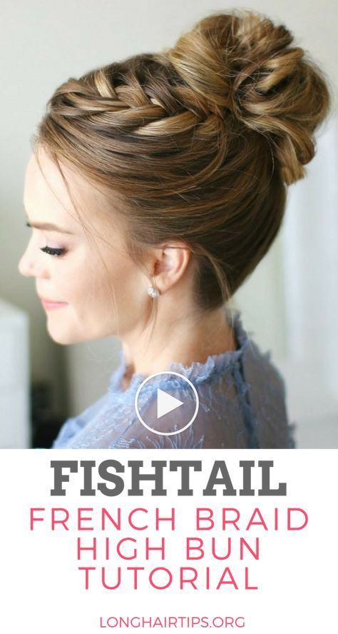 See our new post (French Braid High Bun Tutorial) which has been published on (Long Hair Growth Tips) Post Link (https://longhairtips.org/french-braid-high-bun-tutorial/) Please Like Us and follow us on Facebook @ https://www.facebook.com/longlayers/