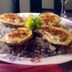 Oysters in Champagne Sauce ►