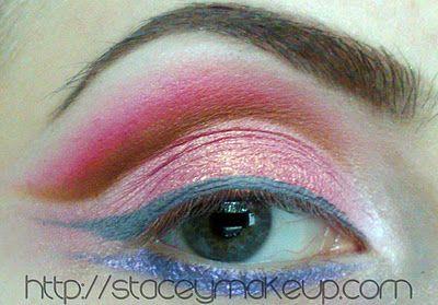 """Dicas de maquiagens : """"Consciência do cancro da mama"""" olhar dedicado"""