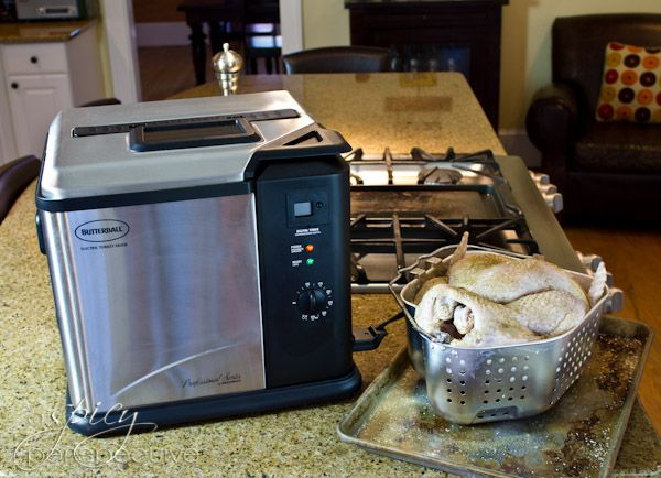 How to Safely Fry a Thanksgiving Turkey | ASpicyPerspective.com #thanksgiving #turkey