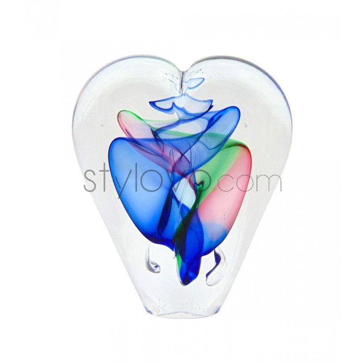 Szklane serduszko - prezent dla najbliższej osoby, ręcznie wykonany, unikatowy przedmiot dla unikatowego człowieka. Wyjątkowość kosztuje Cię tylko 49zł! Zamów na www.stylovo.com