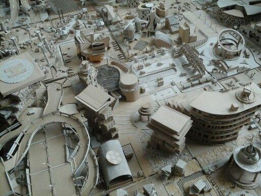Maket Kolaborasi Teknik Komunikasi Arsitektur