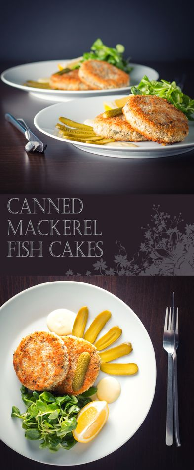 Canned Mackerel Fish Cake Recipe: Don't be afraid of canned fish, the good stuff really can make great fast and really tasty dishes like this canned mackerel fish cake.