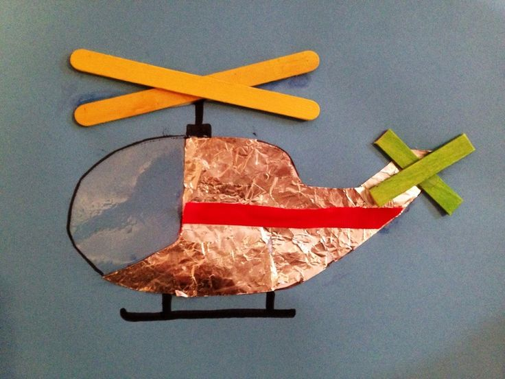 Helicopter craft, helicopter art, helicopter picture kids, helicopter craft kids  - Helicopter Picture