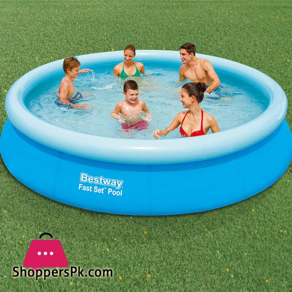 Buy Bestway Fast Set Pool 12 Feet X 30 Inch 57273 At Best Price In Pakistan Inflatable Pool Pool Bestway