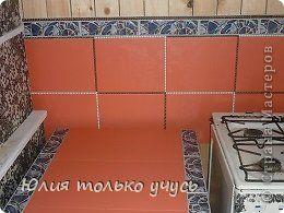 Декор предметов Интерьер Декупаж Обновленная летняя кухня Клей Краска Кружево Салфетки фото 22